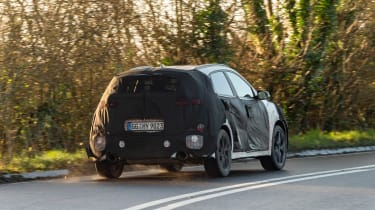 Hyundai Kona N prototype - rear cornering