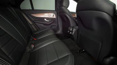 New Mercedes E-Class 2016 studio rear seats