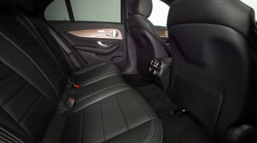 New Mercedes E-Class 2016 studio rear seats