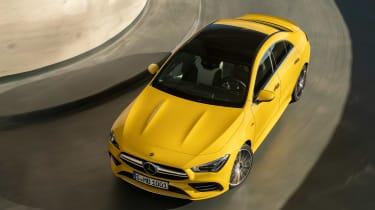 Mercedes-AMG CLA 35 - above action