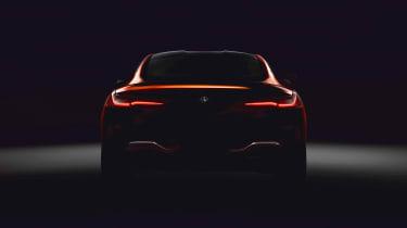 BMW 8 Series teaser rear