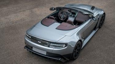 Aston Martin Vantage GT12 Roadster - rear tracking