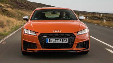 Audi TT S - front