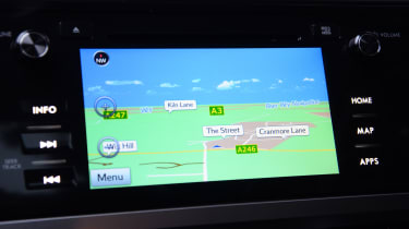 Long-term test review: Subaru Outback sat-nav