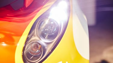 Shell Project M city car - headlight