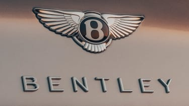 Bentley Continental GT Speed Convertible - rear badge