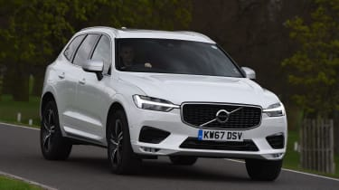 Volvo XC60 long-term test - front