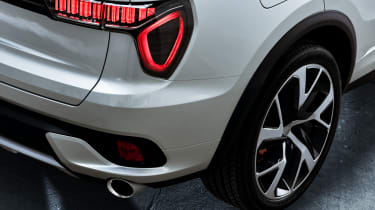 Lynk and Co SUV concept rear light