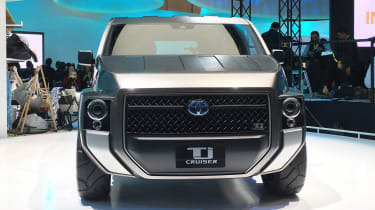 Toyota Tj Cruiser concept - Tokyo full front