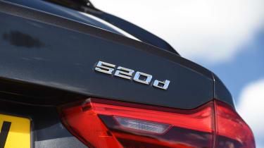 BMW 5 Series Touring - 520d badge