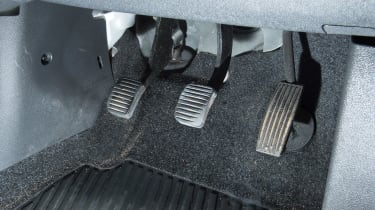 Used Vauxhall Corsa - pedals