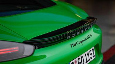 Porsche 718 Cayman GTS 4.0 - rear spoiler