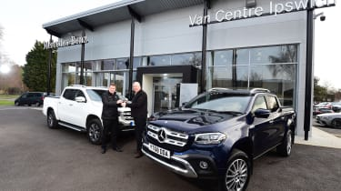 Long-term test review: Mercedes X 350 d - dealership