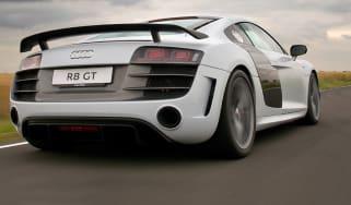Audi R8 GT rear tracking