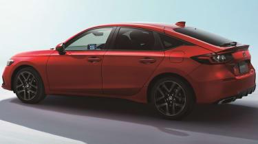 Honda Civic - rear/profile