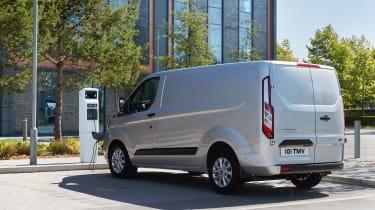 Ford Transit Custom PHEV - rear