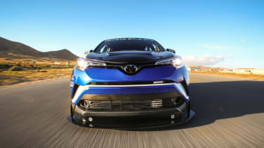 Toyota C-HR R-Tuned  nose