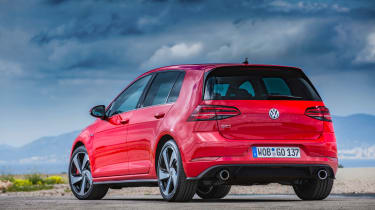 Volkswagen Golf GTI Performance Pack 2017 static rear