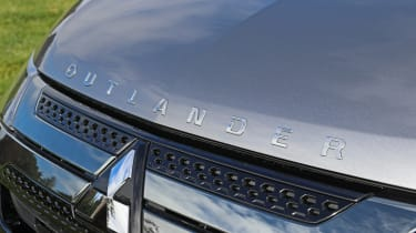 New Mitsubishi Outlander PHEV bonnet badge