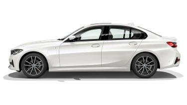 BMW 330e - side studio
