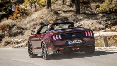 Ford Mustang EcoBoost Convertible - rear cornering