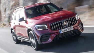 Mercedes-AMG GLB 35 - front action