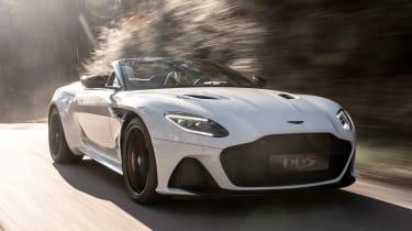 Aston Martin DBS Superleggera Volante - front tracking