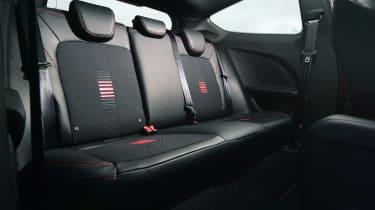 Ford Fiesta ST-Line - rear seats