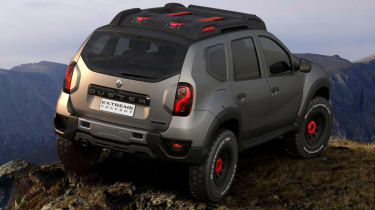 Duster Extreme rear