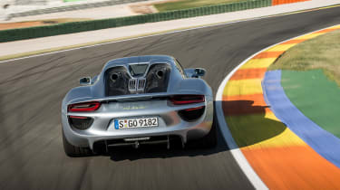 Porsche have combined a race-derived carbon chassis with a 4.6-litre engine coupled to hybrid technology.