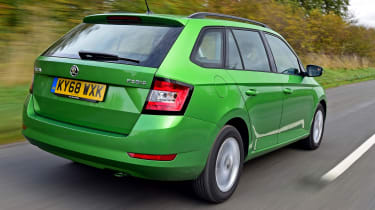 Skoda Fabia Estate - Rear Tracking
