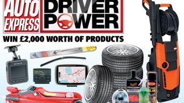 Driver Power 2015 prizes