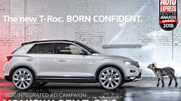 VW T-Roc - Ad Campaign of the Year 2018