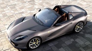 Ferrari 812 GTS - front above