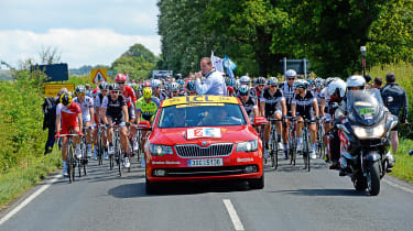 <strong>Richard Ingram, Deputy news editor&nbsp;</strong>  <em><b>Tour de France with</b><b> Skoda</b></em><span> &nbsp;</span>  <span>We're lucky enough to drive and review some of the best new cars around. However, for me, the hi