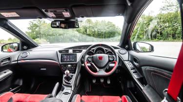 New Honda Civic Type R 2015 dashboard