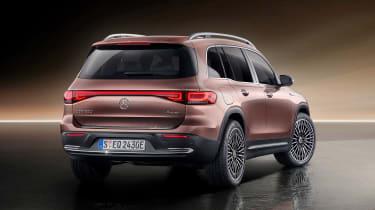 Mercedes EQB - rear studio