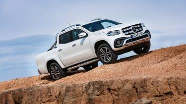 Mercedes X-Class pick-up truck - front