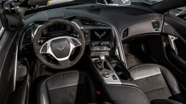 Chevrolet Corvette Stingray Convertible dashboard