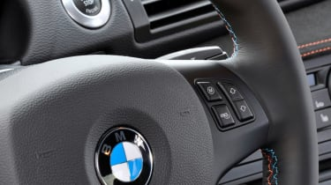 BMW 1 Series M Coupe detail