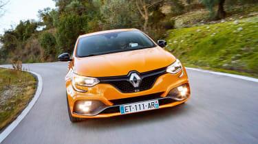 Renault Megane R.S. - full front cornering