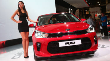 Kia Rio at Paris 2016