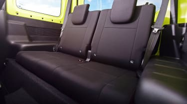 Suzuki Jimny - rear seats