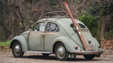 RM Sotheby's 2017 Paris auction - 1952 Volkswagen Type 1 Beetle rear