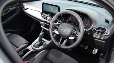 Hyundai i30 N Performance DCT - interior above
