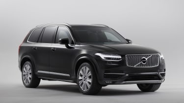 Volvo XC90 Armoured - front static