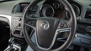 Used Vauxhall Insignia Sports Tourer - steering wheel