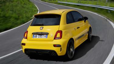 Abarth 595 Competizione - rear cornering