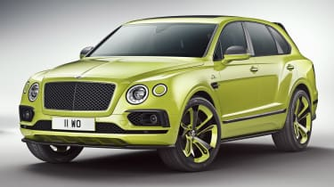 Bentley Bentayga Pikes Peak Limited Edition - front static