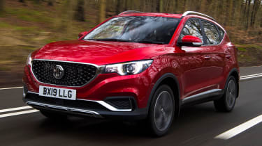 MG ZS EV - front driving